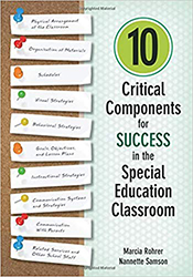 10 Critical Components for Success in the Special Education Classroom CP9160