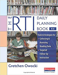 RTI Daily Planning Book, K-6, The Hein7310
