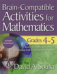 Brain-Compatible Activities for Mathematics, Grades 4-5 CP7877