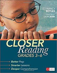Closer Reading, Grades 3-6 CPL4458