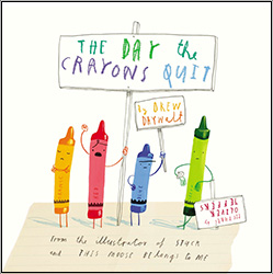 The Day the Crayons Quit PRH5373