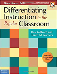 Differentiating Instruction in the Regular Classroom (Updated edition) (Book + CD-ROM) FS4163