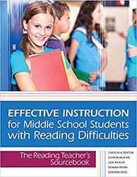 Effective Instruction for Middle School Students with Reading Difficulties Br2438