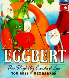 Eggbert, the Slightly Cracked Egg PRH4449