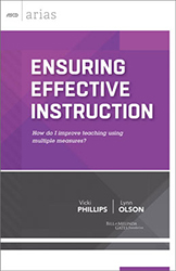 Ensuring Effective Instruction ASCD8249