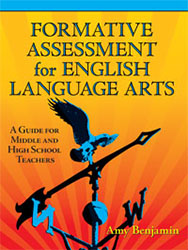 Formative Assessment for English Language Arts 9781596670754