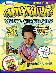 Engage the Brain: Graphic Organizers and Other Visual Strategies, Math, Grades 6–8 CP2316