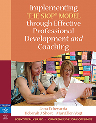 Implementing the SIOP Model Through Effective Professional Development and Coaching PE3336