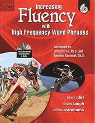 Increasing Fluency with High Frequency Word Phrases, Grade 5 9781425802899
