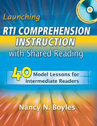 Launching RTI Comprehension Instruction with Shared Reading 9781934338674