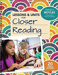 Lessons and Units for Closer Reading CPL5670