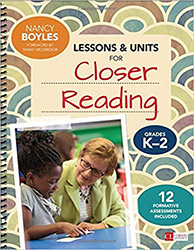 Lessons and Units for Closer Reading, Grades K-2 CPL6467