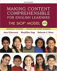 Making Content Comprehensible for English Learners: The SIOP Model PE9724