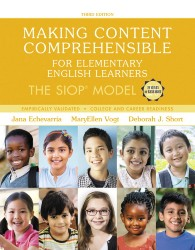 Making Content Comprehensible for Elementary English Learners: The SIOP Model PE0121