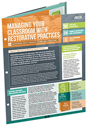 Managing Your Classroom with Restorative Practices (Quick Reference Guide) ASCD4950