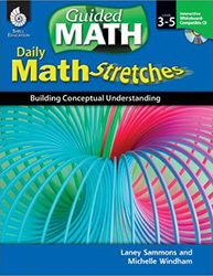 Math Stretches: Grades 3-5 Shell7863