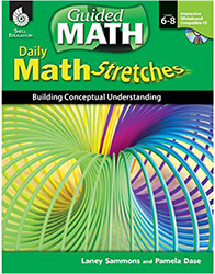 Math Stretches: Grades 6-8 Shell7870