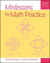 Minilessons for Math Practice, Grades 3–5 9780941355759