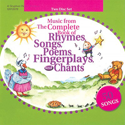 Music from The Complete Book of Rhymes ... Chants, CDs 9780876590522