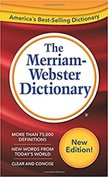 Merriam-Webster Dictionary New Edition, The MW2956