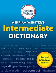 Merriam-Webster's Intermediate Dictionary MW6978