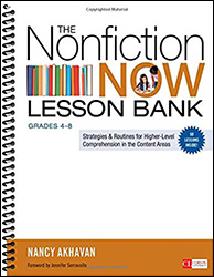 Nonfiction Now Lesson Bank, The: Grades 4-8 CPL6501