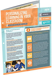 Personalizing Learning in Your Classroom (Quick Reference Guide) ASCD5155