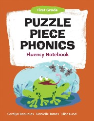 Puzzle Piece Phonics: First Grade, Fluency Notebook PPP1537