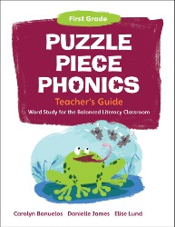 Puzzle Piece Phonics: First Grade, Teacher's Guide PPP1306