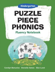 Puzzle Piece Phonics: Kindergarten, Fluency Notebook PPP7922