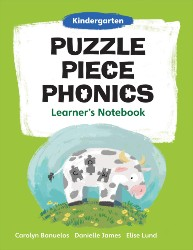 Puzzle Piece Phonics: Kindergarten, Learner's Notebook PPP4458