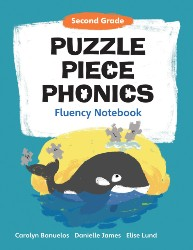Puzzle Piece Phonics: Second Grade, Fluency Notebook PPP7135