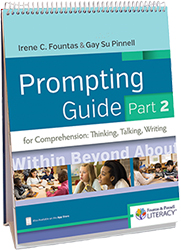 Fountas & Pinnell Prompting Guide Part 2 for Comprehension Hein9669