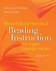 Research-based Methods of Reading Instruction for English Language Earners, Grades K-4 9781416605775