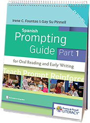 Fountas & Pinnell Prompting Guide, The Part 1:  Spanish Edition (2/e) Hein8932