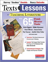 Texts and Lessons for Teaching Literature Hein4354