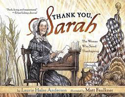 Thank You, Sarah: The Woman Who Saved Thanksgiving SS1438