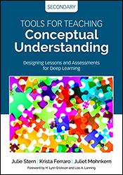 Tools for Teaching Conceptual Understanding, Secondary CP5702