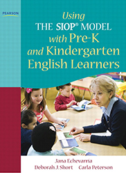 Using the SIOP Model with Pre-K and Kindergarten English Learners PE5231