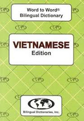 Vietnamese Word to Word Bilingual Dictionary BDI6969
