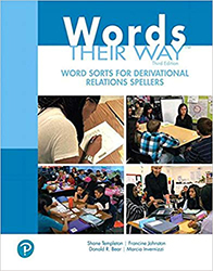 Words Their Way Word:  Derivational Relations Spellers (2/e) 9780135145784
