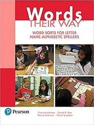 Words Their Way: Word Sorts for Letter Name - Alphabetic Spellers PE9790