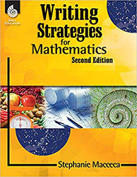 Writing Strategies for Mathematics 9781425800567