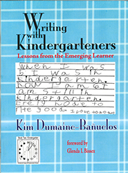 Writing with Kindergarteners Absey2395